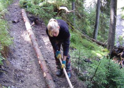 Impuls-Zeitgeist Projektarbeit Outdoor Wald Hang