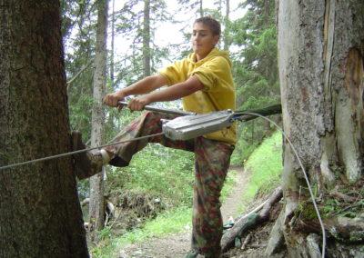 Impuls-Zeitgeist Projektarbeit Outdoor Wald