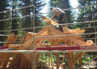 Impuls-Zeitgeist Projektarbeit Outdoor Team St. Moritz