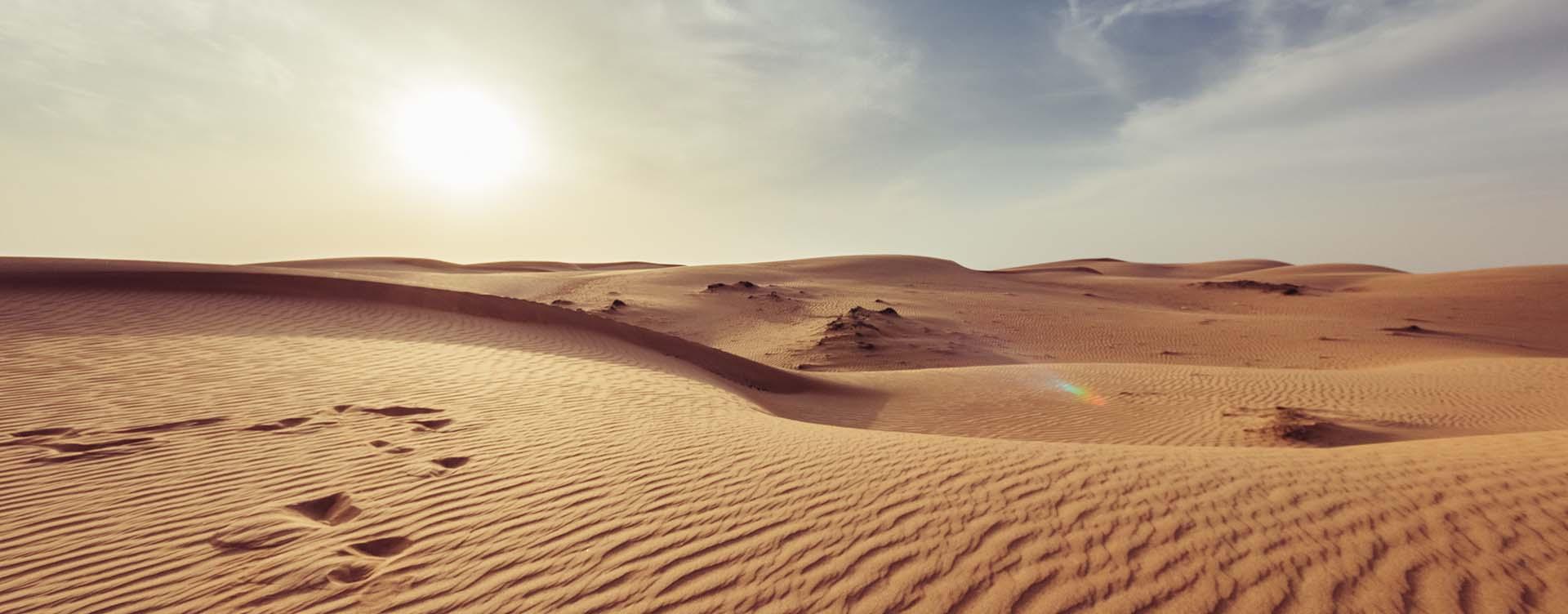 Wasserströme in der Wüste
